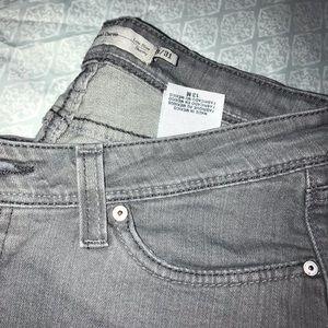 Women Grey Levi's Jeans
